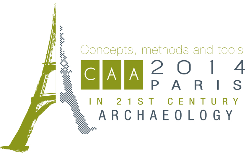 Congrès CAA2014 « 21st Century Archaeology Concepts, Methods, Tools » (22-25 avril 2014)