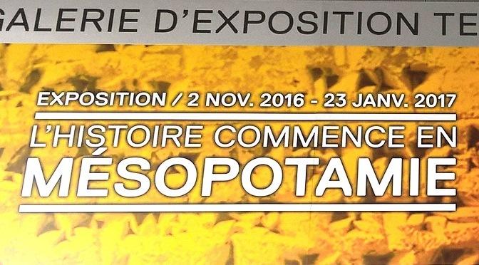 L'Histoire commence en Mésopotamie, une exposition du Louvre-Lens